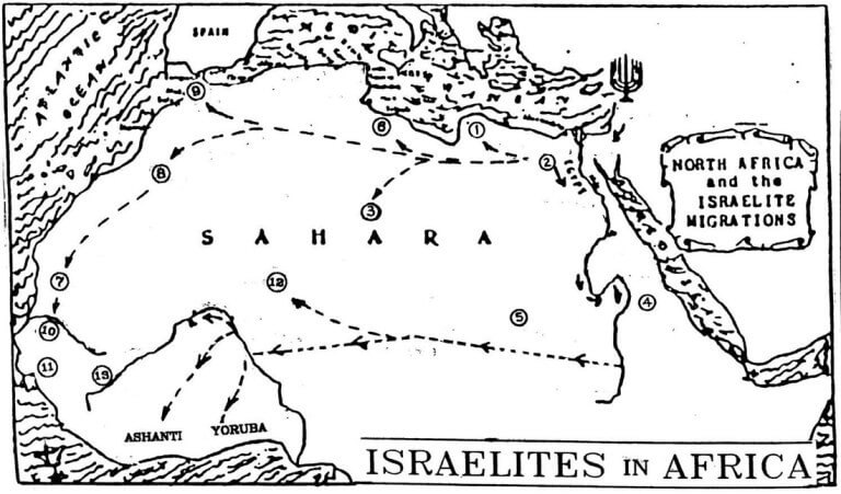 Hebrew Jew Migrations