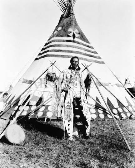 Native american tepee