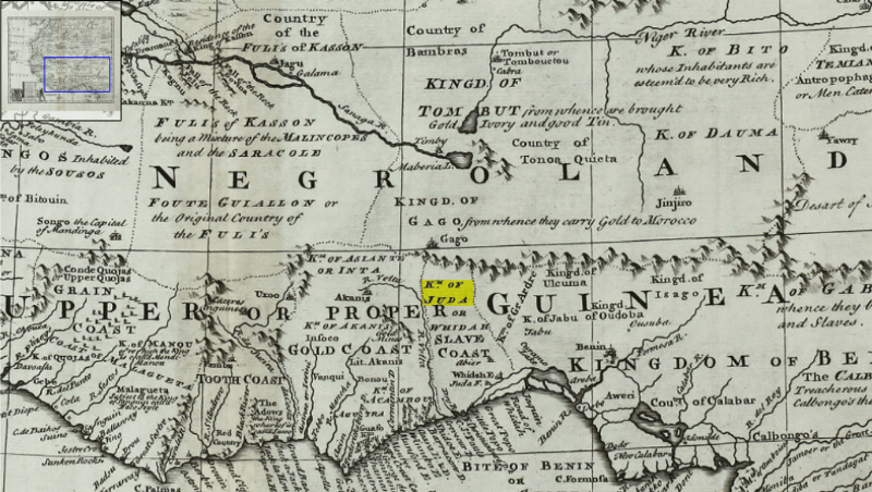 Judah in West Africa