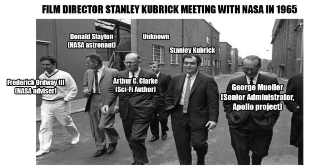 NASA with Stanley Kubrick